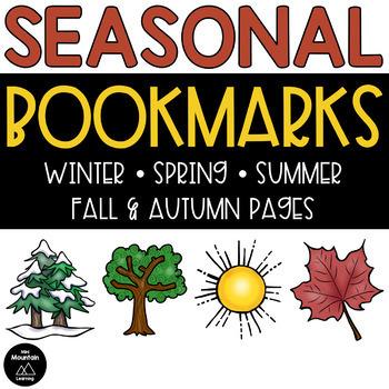 Seasonal Bookmarks