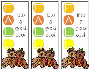 Seasonal Bookmarks {FREEBIE}