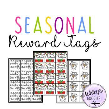 Seasonal Brag Tags!