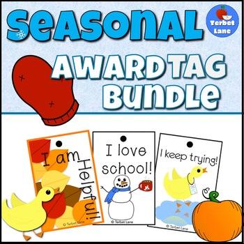 Seasonal Brag Tags Bundle