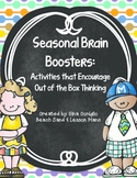 Seasonal Brain Booster: Activities that Encourage Out of the Box Thinking