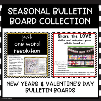 Seasonal Bulletin Board Bundle
