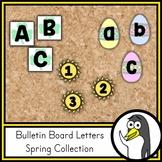 Seasonal Bulletin Board Letters - Spring Theme