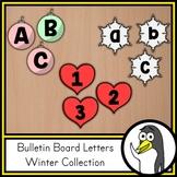 Seasonal Bulletin Board Letters - Winter Theme