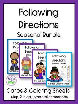 Seasonal Bundle of Following Directions