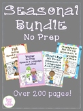 Seasonal Bundle of NO PREP Speech & Language Activities