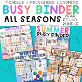 Seasonal Busy Binder Bundle of Learning - All Seasons