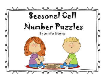 Seasonal Call Number Puzzles for Library Centers