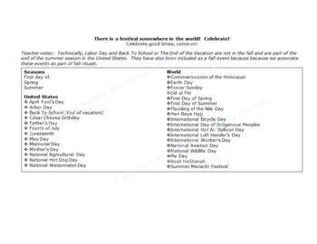 Seasonal Celebrations and Events Set 3