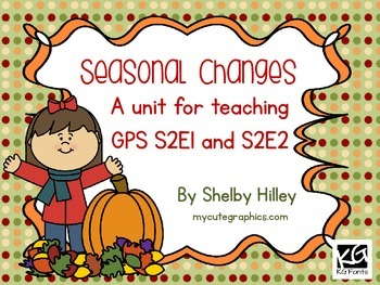 Seasonal Changes (Phases of the Moon)