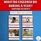 Seasonal Children's Activities Montessori Sorting Cards