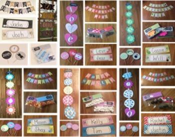 Seasonal Classroom Decorations Bundle