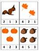 Seasonal Clip & Count 1-10
