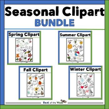 Seasonal Clip Art Bundle