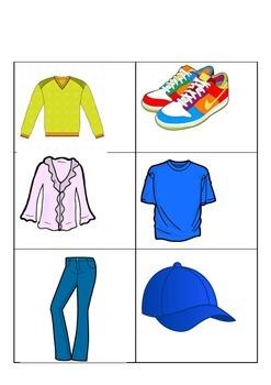Seasonal Clothing Activity- Teaching Clothing