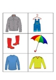 Seasonal Clothing Activity- Teaching Clothing