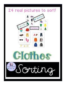 Seasonal Clothing Matching Activity