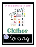 Seasonal Clothing Matching Activity