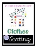 Seasonal Clothing sorting