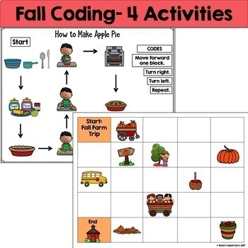 Seasonal Coding Unplugged Bundle ~ Great for Hour of Code™