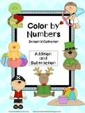 Seasonal Color by Numbers: Addition and Subtraction (K-2)
