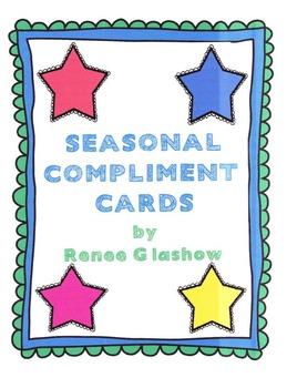 Seasonal Compliment Cards
