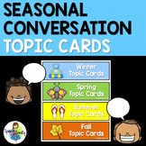 Seasonal Conversation Topic Cards