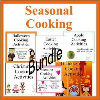 Seasonal Cooking Activities and Ideas Bundle