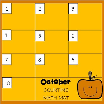 Math Centers: Seasonal Counting Mats