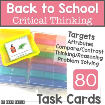 Seasonal Critical Thinking Activities