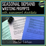 Seasonal Demand Writing Prompt Set:  Winter!
