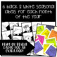 #HappyEasterDeals Seasonal Desk Tags (Ready to Print & Editable)