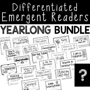 Seasonal Differentiated Readers - Yearlong Bundle