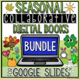 DIGITAL HOLIDAY WRITING ACTIVITIES BUNDLE FOR GOOGLE SLIDES™