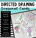 Seasonal Directed Drawing Cards and Writing (GROWING)