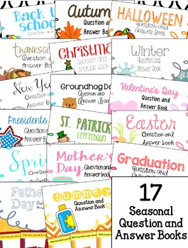 Seasonal Discussion Starters for Preschool