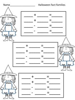 Seasonal Domino Math Centers