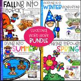 Word Work, Reading, Writing & Crafts - Seasonal ELA Bundle