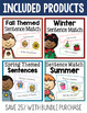 Sentence Matching Bundle - Seasonal Strips