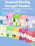 Monthly Emergent Readers **GROWING BUNDLE**