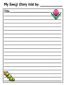 Seasonal Emoji Story Writing Pack
