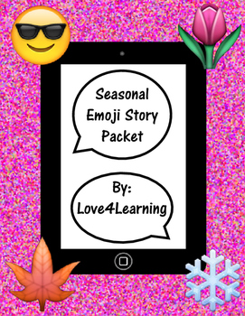 Seasonal Emoji Story Writing Pack