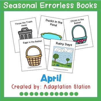 Seasonal Errorless Books: April Set