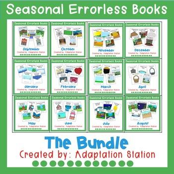 Seasonal Errorless Books Growing Bundle