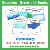 Seasonal Errorless Books: January Set