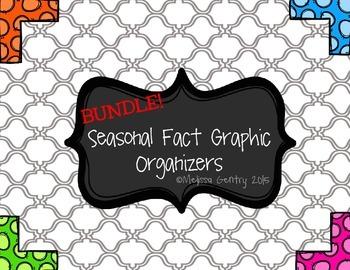 Seasonal Fact Graphic Organizers BUNDLE