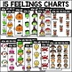 Year-Round Feelings Charts and Writing Prompts