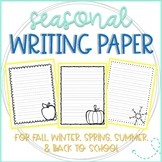 Final Draft Writing Paper for Summer, Fall, Winter, & Spring