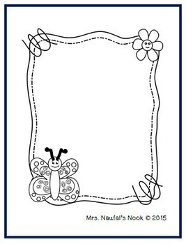 Seasonal Frames Clip Art