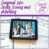 Seasonal Functional Life Skills Scenes Activities